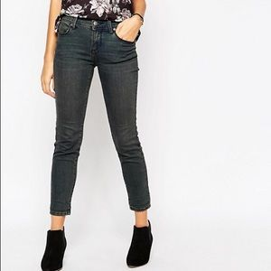 free people // roller crop skinny jeans in Patsy